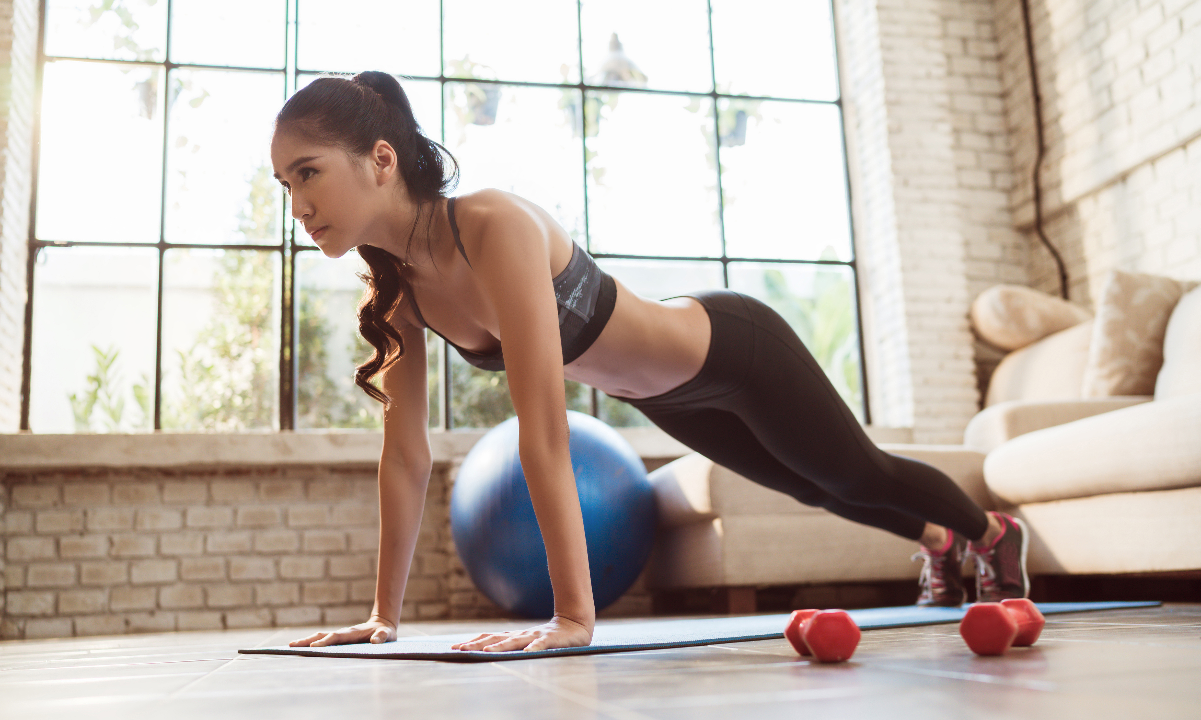 New exercise regime to get your body in shape