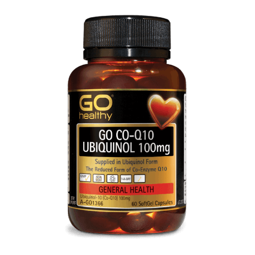 GO CO-Q10 UBIQUINOL 100mg