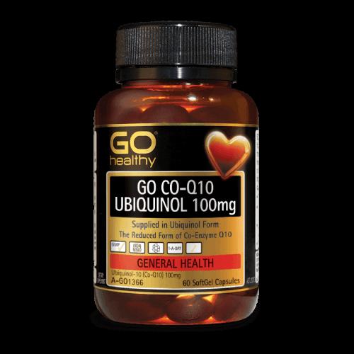 GO CO-Q10 UBIQUINOL 100mg